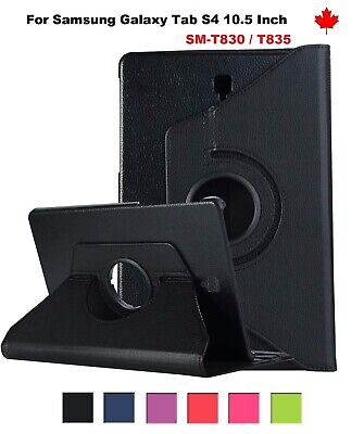 """360 Degree Leather Stand Case Cover Samsung Galaxy Tab S2 8.0"""" T710 T713 T715"""