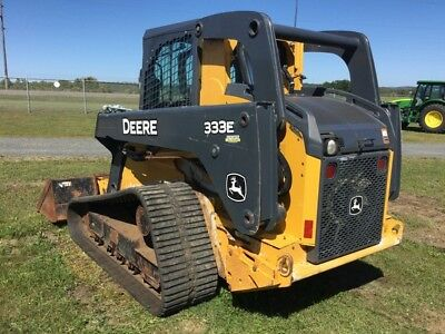 2013 John Deere 333E Multi Terrain Loaders