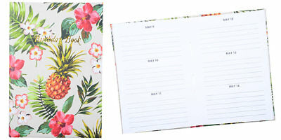 Cumberland Birthday Book 130 x 90mm Casebound - Pinapple
