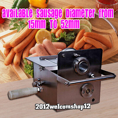 Stainless steel 304 manual sausage knotting Hand-rolling sausage tying machine