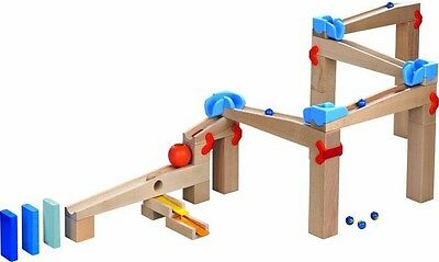 Haba Ball Rail Speed Wooden Train Marble Run Early Learning Construction Kids