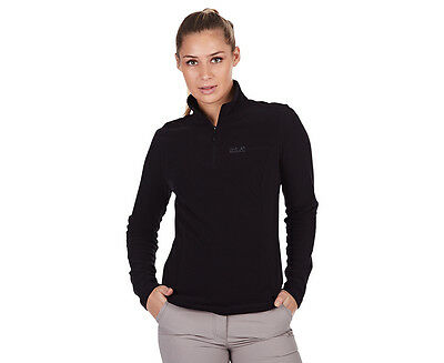 Jack Wolfskin Women's Gecko Fleece Jumper - Black