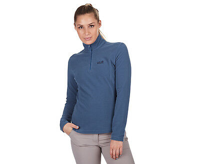 Jack Wolfskin Women's Gecko Fleece Jumper - Ocean Wave