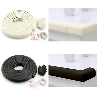 5m Baby Proofing Safety Table Edge Guard Strip Corner Cushion Softener Protector