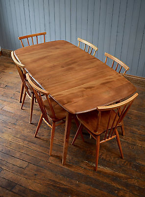 Vintage Ercol XL Extending Blonde Dining Table Kitchen CAN DELIVER
