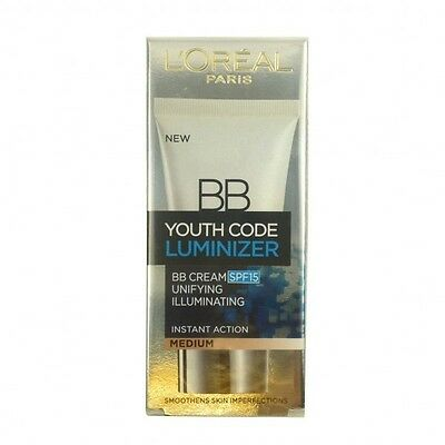 L'oréal BB Code Jeunesse Luminizer  Medium Instant Action SPF 15