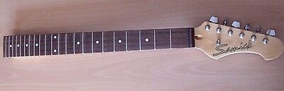 Samick Electric Guitar Neck + Tuners, 22 Frets 25.5'' Scalelength Strat Tele