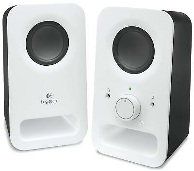 Logitech Multimedia Speakers Z150 With Stereo Sound for Multiple Devices Black