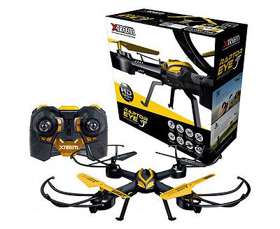 Swann RaptorEye Quadcopter w/ 720p Video Camera - Yellow/Black