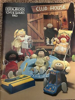 CATALOG 1983 and 1984 COLECO TOYS CATALOGS