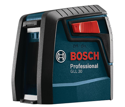 Bosch Tools GLL30-30 ft. Self-Leveling Cross-Line Laser Level