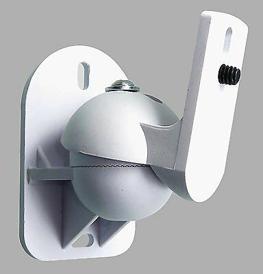 BWC white wall mount bracket suitable for vertical mounting only for Sonos Play