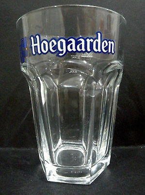 "Hoegaarden, Germany 330ml / 0.33L Beer Glass vgc (5 3/8"" x 3 7/8"") - 3 available"