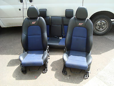 Ford Fiesta ST half leather interior seat set Front and rear seats