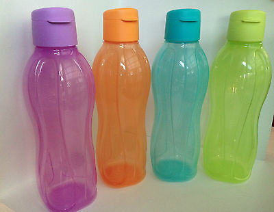 Tupperware Eco Water Drink Bottle x 1 - 1L -Choose your Colour - BPA Free - !!