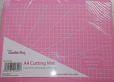 Crafts-Too A4 Cutting Mat - Self Healing