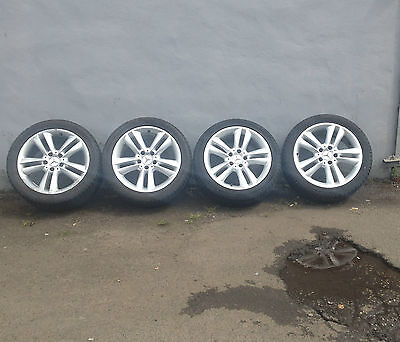 Mercedes A209 C209 Clk Convertible Alloy Wheels And Tyres - 17 Inch