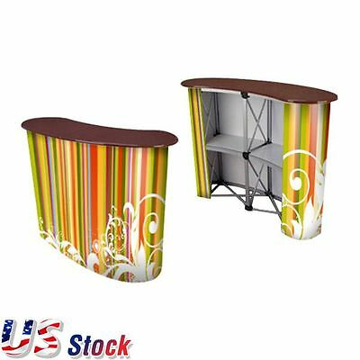 USA Stock - Big Size Magnetic Pop Up Counter Booth Display Trade Show Display
