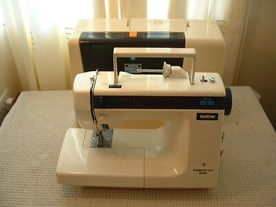 BROTHER Computer Sew 1000 Heavy Duty Free Arm Zig Zag Sewing Machine