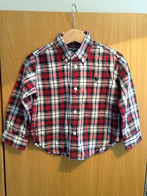 Ralph Lauren toddlers long sleeve shirt age 24 months brand new & genuine!