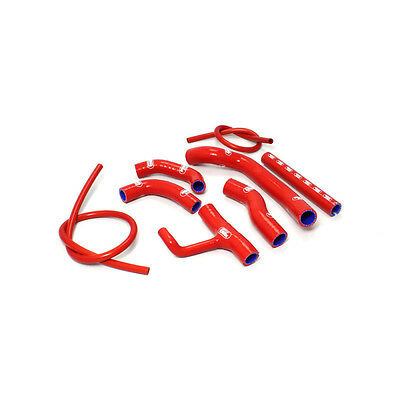 Samco Duc25-Rd Radiator Hose Kit Silicone Red Ducati Hypermotard 821 Sp Abs 2014