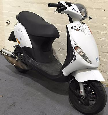 2015 15 Piaggio Zip 50 2T 2 Stroke Learner Legal Moped/scooter Spares/repair 4K