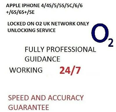 Factory Unlock Service O2/Tesco UK For iPhone4/4S/5/5S/6/6S/6S+/SE Clean IMEI