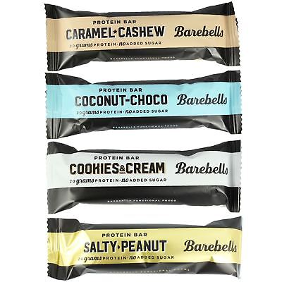 Barebells 55g High Protein Bar No Added Sugar Individual & Mixed Taster Packs