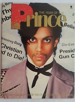 """PRINCE """"THE YEAR OF THE"""" original 1984 UK BOOK"""