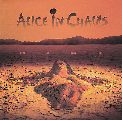 ALICE IN CHAINS - Dirt Album Cover Art Print Poster 12 x 12