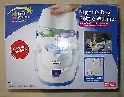 Baby Bottle Warmer Night and Day Bottle Warmer New