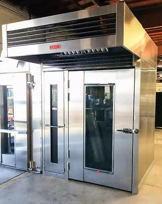 2015 Lbc Lro-2G Bakery Equipment Double Roll In Rotating Rack Gas Baking Oven