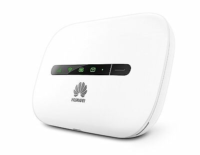 Huawei E5330 Unlocked Sim Free 3G 4G HSPA+ Mobile MiFi WiFi Wireless Modem White