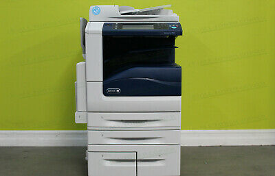 Xerox WorkCentre 7855i Color Tabloid Printer Copier Scanner All-in-One 55PPM