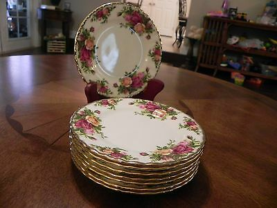 Royal Albert Old Country Roses  6 1/4 Inch  Plate  - Set Of 8 Plates
