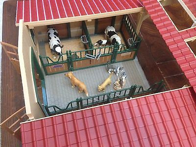 Huge HORSE STABLE & Animal Families & Stable Stuffs! Schleich 42110: