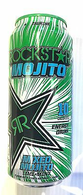 Rockstar Mojito - 12 Pack, 16 Pack, 24 Pack - 16oz. cans.