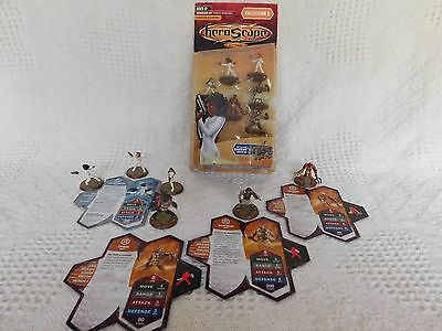 HEROSCAPE Collection 5 Expansion Thora's Vengeance - Gladiators and Agents - NIB