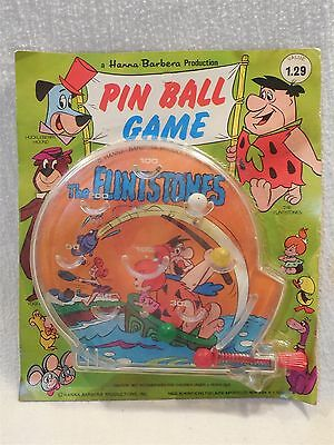 Flintstones Hanna-Barbera Productions Pin Ball Game with Fred, Wilma & Pebbles