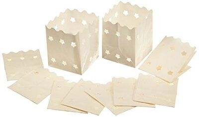Luminaria 8528500 Brillante Decorativa Posto Prenotato Set Di 10 Lanterna Carta