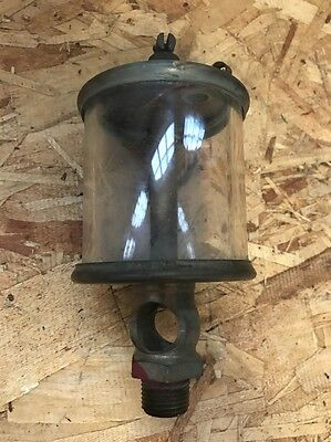 No.5 LUNKENHEIMER SENTINEL Fig. 1300 BRASS OILER Hit and Miss Old Gas Engine