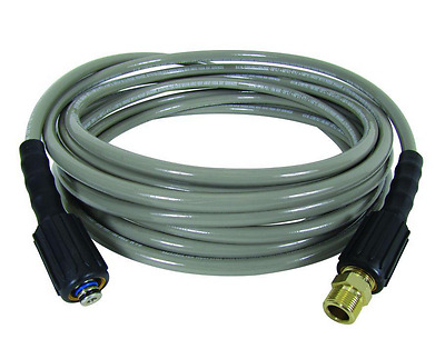 30' Universal Replacement Extension Hose + Adapter Gas Pressure Washer 3600 PSI