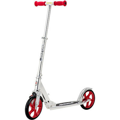 Razor A5 Lux Scooter Silver/Red - 13013201