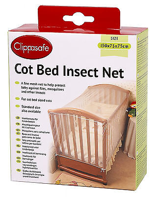 Children Ease Sleep Clip Safe Cot Bed Prevent Insect Cat Net Protest Secure Mesh