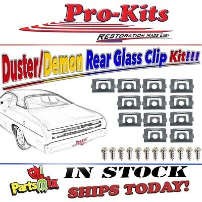 Rear Window Reveal Molding Clip Kit 70-76 Duster 71-72 Demon 73-76 Dart Sport
