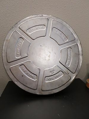 """15"""" Vintage Collectible Metal Kodak 35mm Movie Film Can Canister Tin No. 2375"""