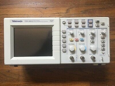 Tektronix TDS 2012 Two Channel Digital Storage Oscilloscope 100MHz 1GS/s