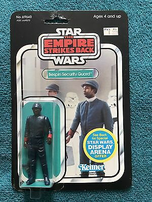 Vintage Star Wars Bespin Security Guard ESB 1981 MOC