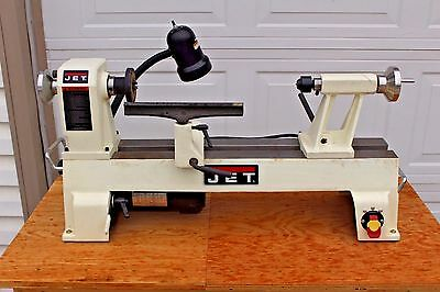 JET JWL-1220 Wood Lathe 12'' x 20'' Variable Speed Woodworking Tool