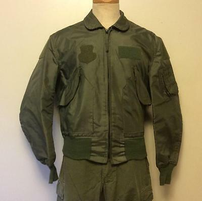 Vintage US Military CWU-36/P Flyer's Jacket Size 38-40